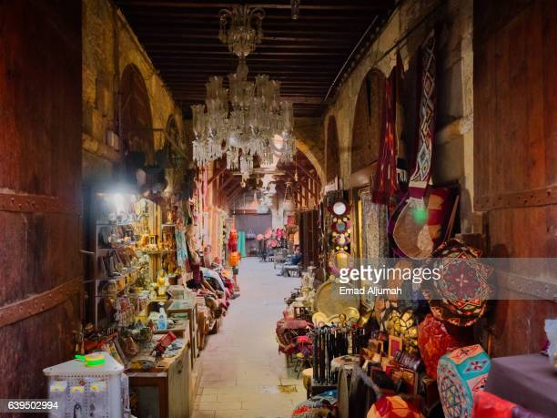 khan el khalili bazaar, cairo, egypt - cairo stock pictures, royalty-free photos & images