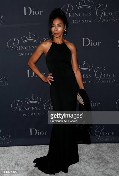 Khandi Alexander attends 2017 Princess Grace Awards Gala at The Beverly Hilton Hotel on October 25 2017 in Beverly Hills California