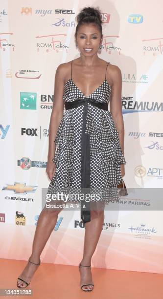 Khandi Alexander attends a photocall during the Roma Fiction Fest at Adriano Cinema on July 6 2010 in Rome Italy