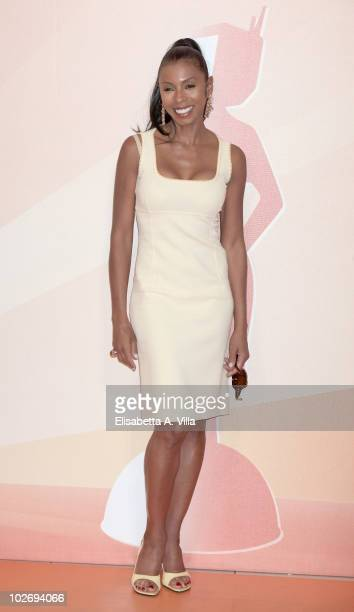Khandi Alexander attends a photocall during the Rome Fiction Fest at Adriano Cinema on July 7 2010 in Rome Italy