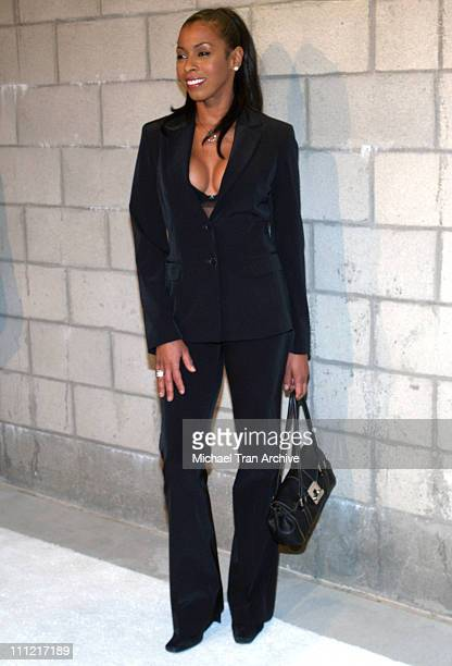 Khandi Alexander during CBS Television 2006 TCA Winter Party Arrivals at The Wind Tunnel in Pasadena California United States