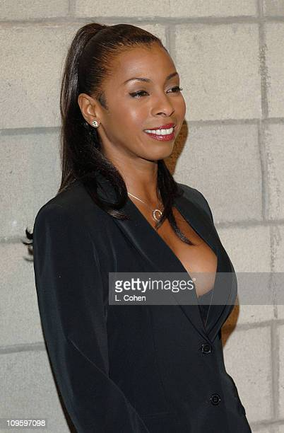 Khandi Alexander during CBS/Paramount/UPN/Showtime/King World 2006 TCA Winter Press Tour Party Red Carpet at The Wind Tunnel in Pasadena California...