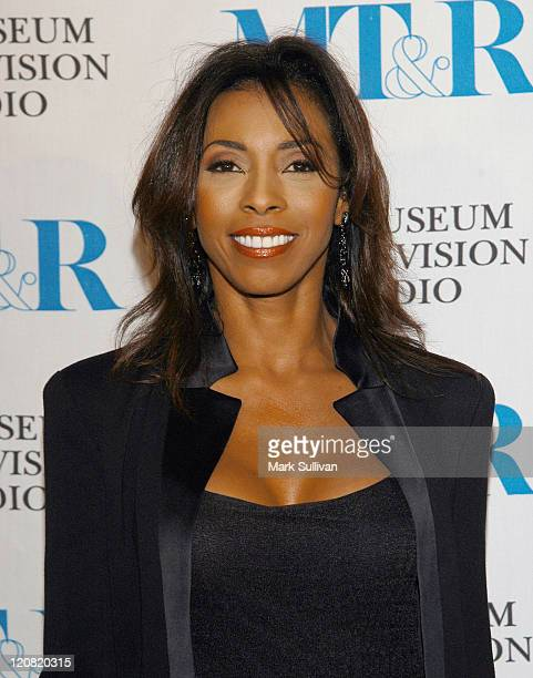 Khandi Alexander during The Museum of Television and Radio Annual Los Angeles Gala Arrivals at The Beverly Hills Hotel in Beverly Hills California...