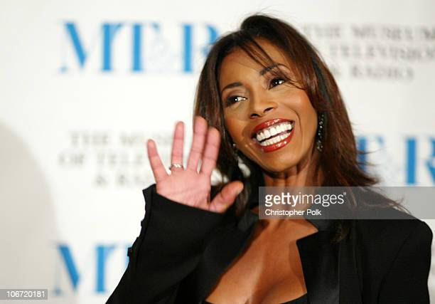 Khandi Alexander during The Museum Of Television Radio To Honor CBS News's Dan Rather And Friends Producing Team at The Beverly Hills Hotel in...