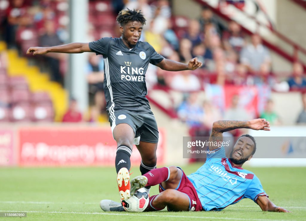 Scunthorpe United v Leicester City - Pre-Season Friendly : News Photo