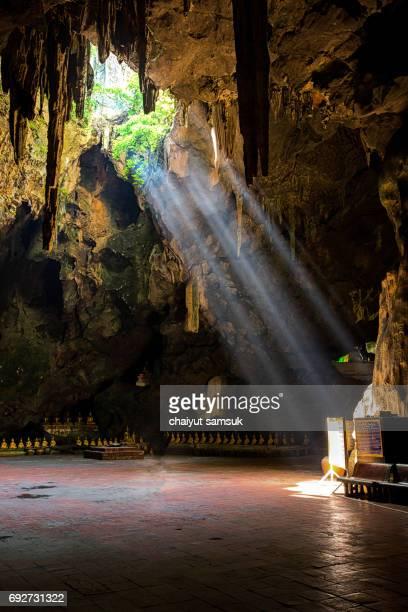 Khao Luang cave, Phetchaburi in Thailand