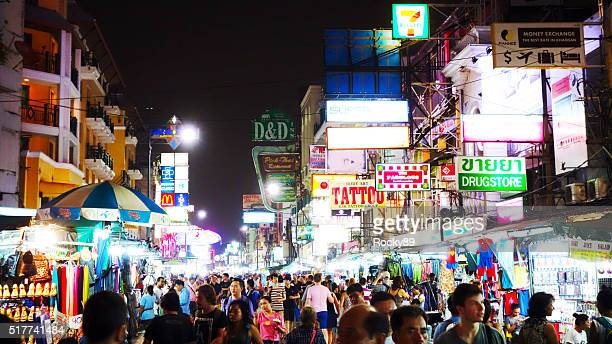 Khao San Road at Night
