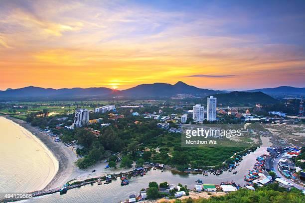Khao Takiab Village-Huahin, Thailand