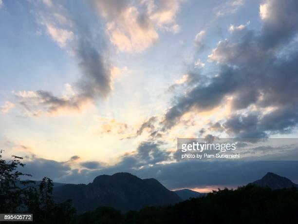 Khao Yai Thailand Sunset