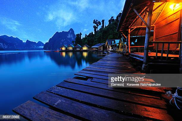 khaosok with the stars - kao sok national park stock pictures, royalty-free photos & images