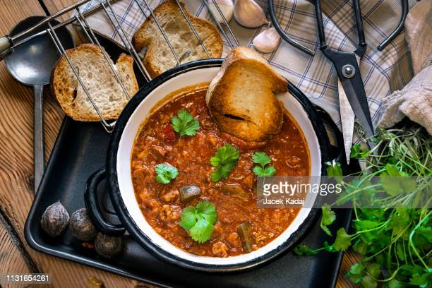 kharcho kitchen-soup - georgia country stock pictures, royalty-free photos & images
