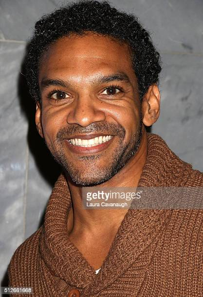 Khary Payton attends Lego DC Comics Super Heroes Justice League Cosmic Clash at The Paley Center for Media on February 27 2016 in New York City