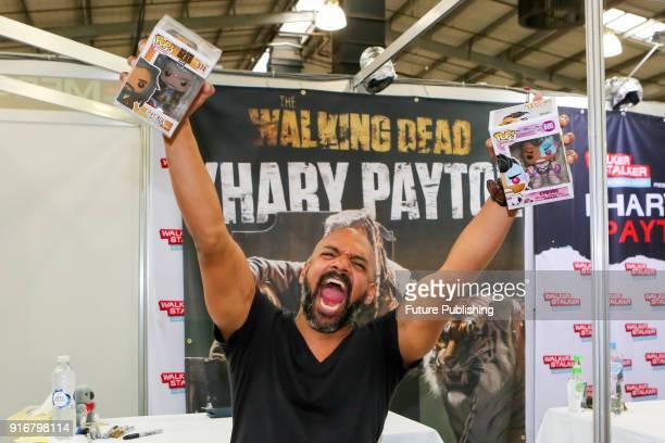 MELBOURNE AUSTRALIA FEBRUARY Khary Payton having fun at Walker Stalker Con Melbourne 2018PHOTOGRAPH BY Chris Putnam / Barcroft Images 44 207 033 1031...