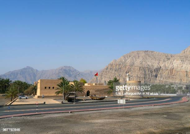 Khasab castle Musandam Governorate Khasab Oman on May 19 2018 in Khasab Oman