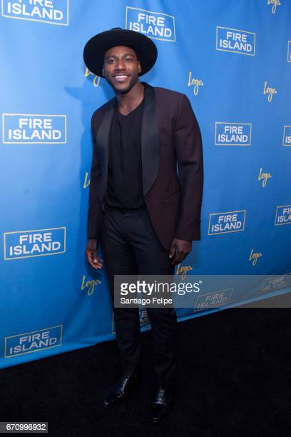 Khasan Brailsford attends Logo TV Fire Island Premiere Party at Atlas Social Club on April 20 2017 in New York City