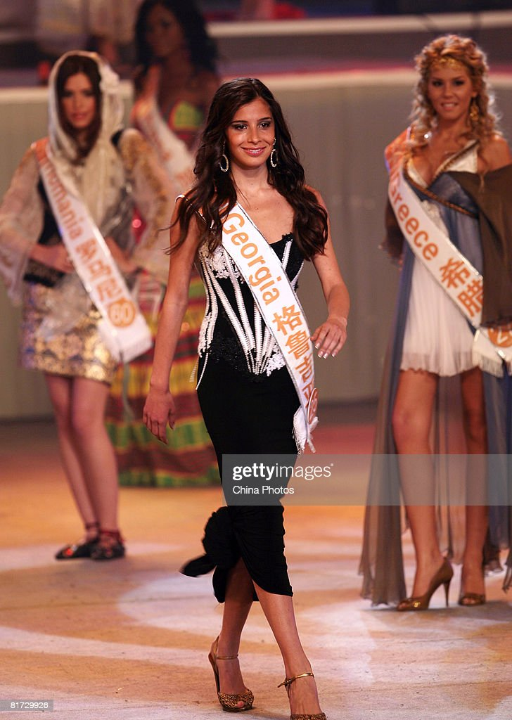2008 World Miss Leisure : News Photo