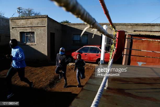 Khaya Gabuza , a 19-year-old Mpumalanga Provincial middleweight champion, Santy Mathole , a 19-year old Silver medal Mpumalanga Provincial boxer and...