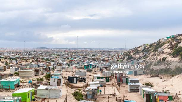 khayelitsha township, south africa - township stock pictures, royalty-free photos & images
