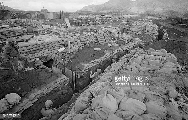 Khe Sanh a remote outpost in Vietnam faced fullscale siege from the North Vietnamese forces during the Vietnam War until it was finally abandoned to...
