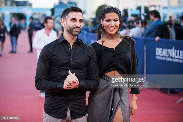 Kheiron and actress Leila Boumedjane attend the Imperium Premiere during the 42nd Deauville American Film Festival on September 9 2016 in Deauville...