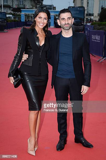 Kheiron and his wife attend the 'Where To Invade Next' Premiere during the 42nd Deauville American Film Festival on September 4 2016 in Deauville...