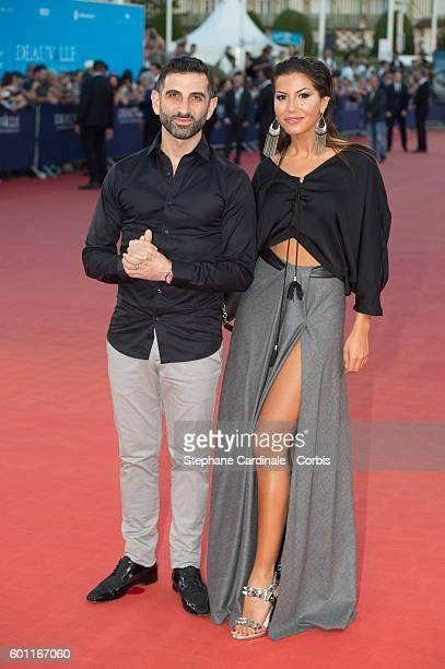 Kheiron and Leila Boumedjane attend the Imperium Premiere on September 9 2016 in Deauville France