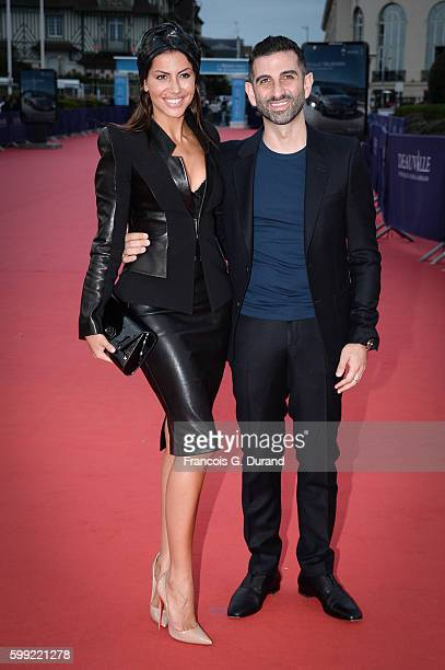 Kheiron and Leila Boumedjane attend the Where To Invade Next Premiere during the 42nd Deauville American Film Festival on September 4 2016 in...