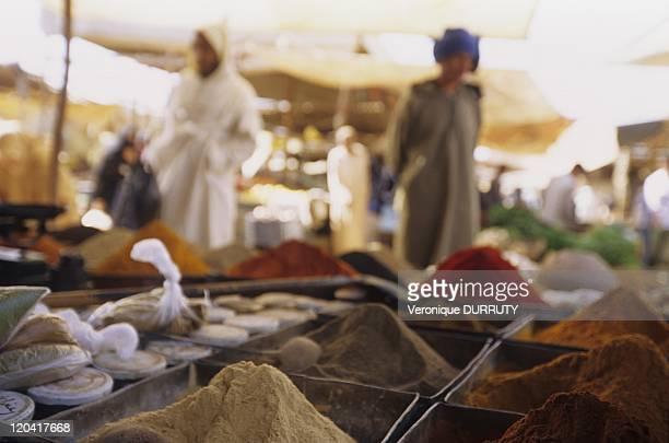 Khenifra market middle Atlas in Khenifra Morocco
