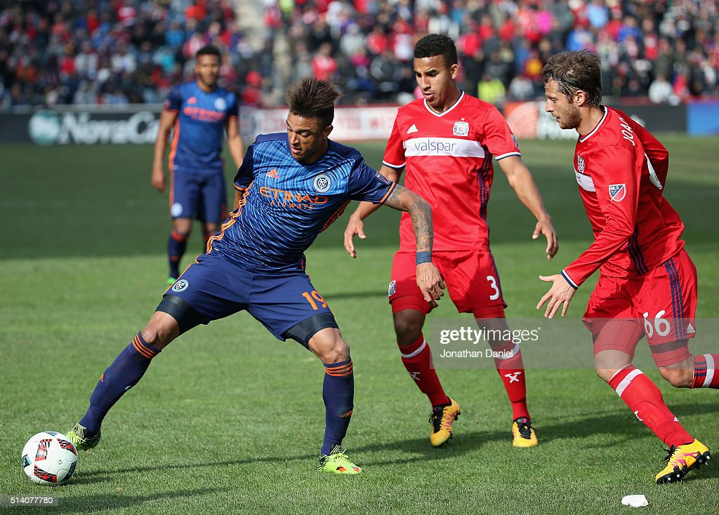 New York City FC v Chicago Fire : News Photo