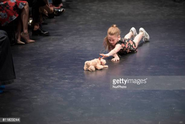 Khiyla Aynne - a dancer and singer featured on Ellen DeGeneres show performing during the Fashion against Cancer fundraising event in Toronto, Canada...
