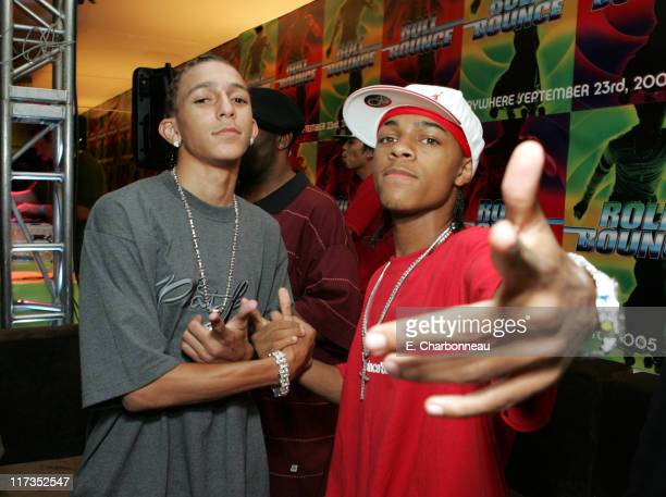 Khleo Thomas and Bow Wow during FoxSearchlight Pictures Present the Los Angeles Premiere of Roll Bounce After Party at The Bridge at Howard Hughes...