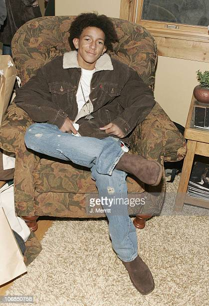Khleo Thomas and Hush Puppies during UPP Hot House sponsored by The North Face Napapijri Hush Puppies Nautica LEE Biolage Absolut Atkins Wigwam and...