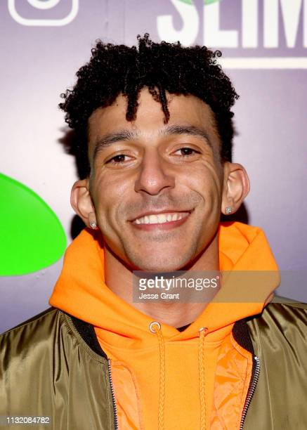 Khleo Thomas attends the 2019 Nickelodeon Kids' Choice Awards Slime Soiree on March 22 2019 in Venice California