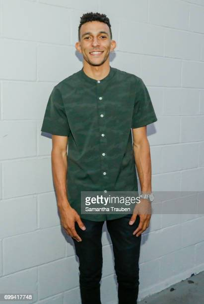 Khleo Thomas attends the BoohooMAN Launch party on June 20 2017 in Los Angeles California