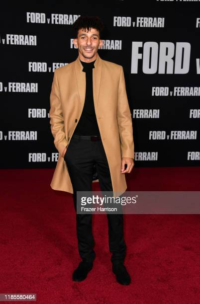 Khleo Thomas attends the Premiere Of FOX's Ford V Ferrari at TCL Chinese Theatre on November 04 2019 in Hollywood California