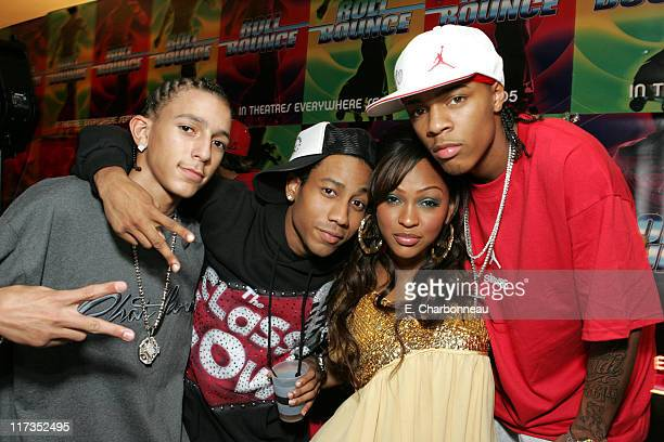 Khleo Thomas Brandon T Jackson Meagan Good and Bow Wow