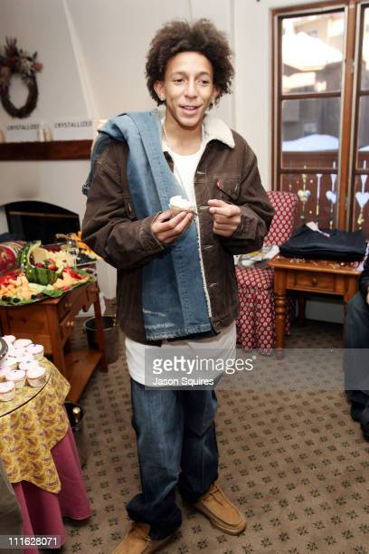 Khleo Thomas during 2005 Park City 7 For All Mankind and Cake Beauty House at Seven Jeans House in Park City Utah United States