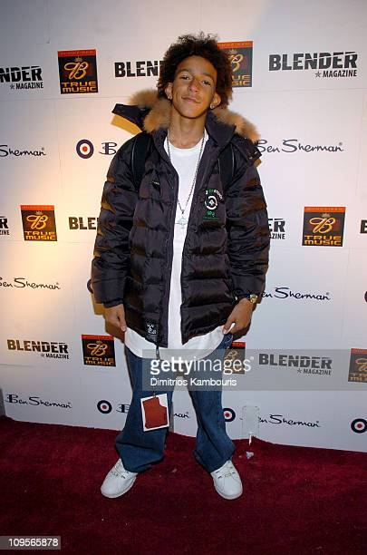 Khleo Thomas during 2005 Park City Blender Sessions with Juliette and the Licks and Kings Of Leon Arrivals at Harry O's in Park City Utah United...