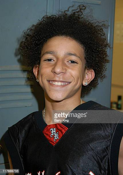 Khleo Thomas during Hollywood Knights Basketball Game Van Nuys at Van Nuys High School in Van Nuys California United States