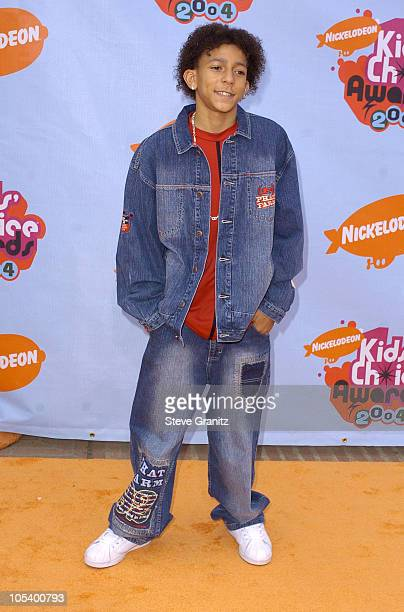 Khleo Thomas during Nickelodeon's 17th Annual Kids' Choice Awards Arrivals at Pauley Pavillion in Westwood California United States