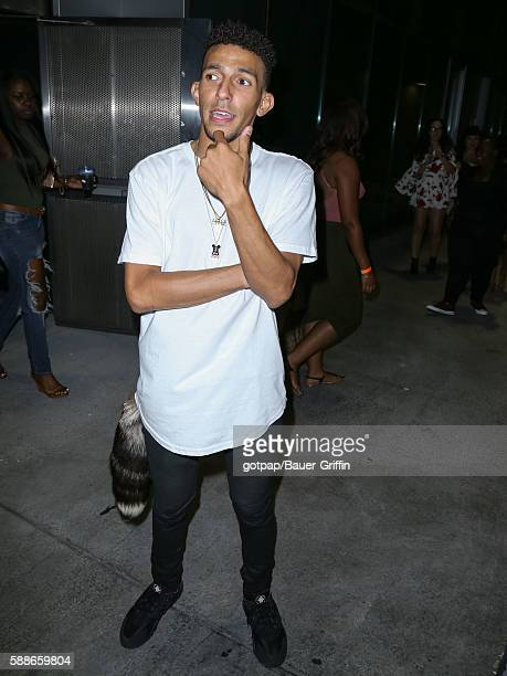 Khleo Thomas is seen on August 11 2016 in Los Angeles California
