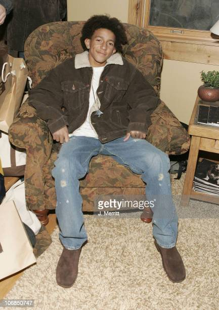 Khleo Thomas with Hush Puppies during UPP Hot House sponsored by The North Face Napapijri Hush Puppies Nautica LEE Biolage Absolut Atkins Wigwam and...