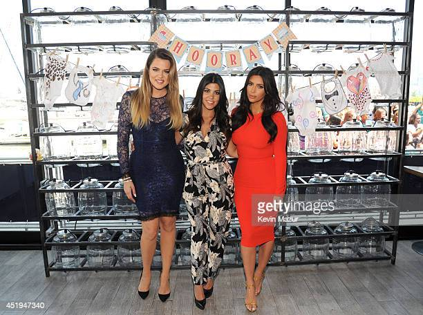 Khloé Kourtney and Kim Kardashian joined BabiesRUs to surprise military momstobe with gifts including items from their Kardashian Kids collection at...
