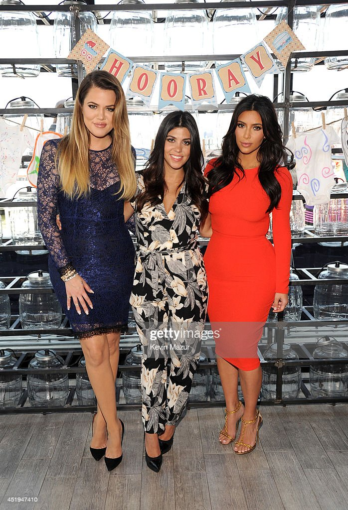 Babies'R'Us And The Kardashians Celebrate Military Moms-to-be At An Operation Shower Event : News Photo