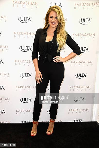 Khloe Kardashian appears At ULTA Beauty's West Hills Store To Promote Kardashian Beauty Hair Care And Styling Line at ULTA Beauty on April 2 2015 in...