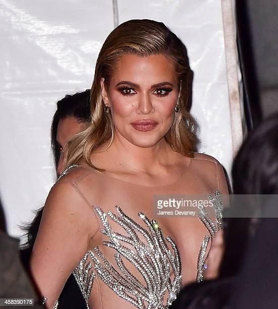 Khloe Kardashian arrives to the 2016 Angel Ball on November 21 2016 in New York City