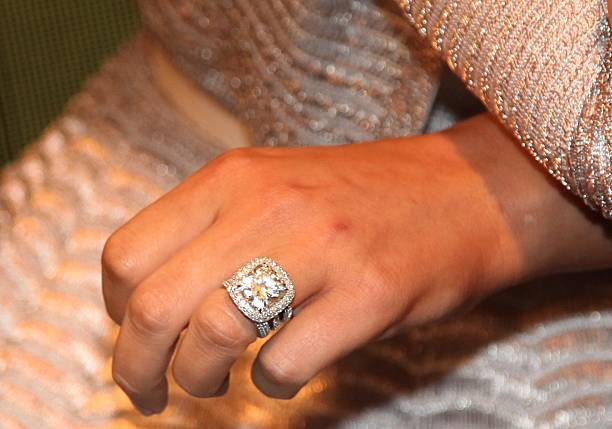 khloe kardashian ring detail at the whoolywood shuffle at siriusxm studio on - Khloe Kardashian Wedding Ring