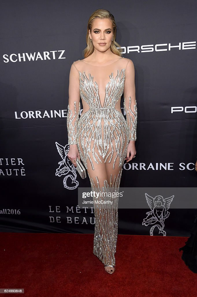 Khloe Kardashian attends the 2016 Angel Ball hosted by Gabrielle's Angel Foundation For Cancer Research on November 21, 2016 in New York City.