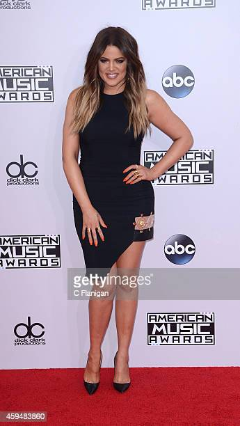 Khloe Kardashian attends the 42nd Annual American Music Awards at Nokia Theatre LA Live on November 23 2014 in Los Angeles California