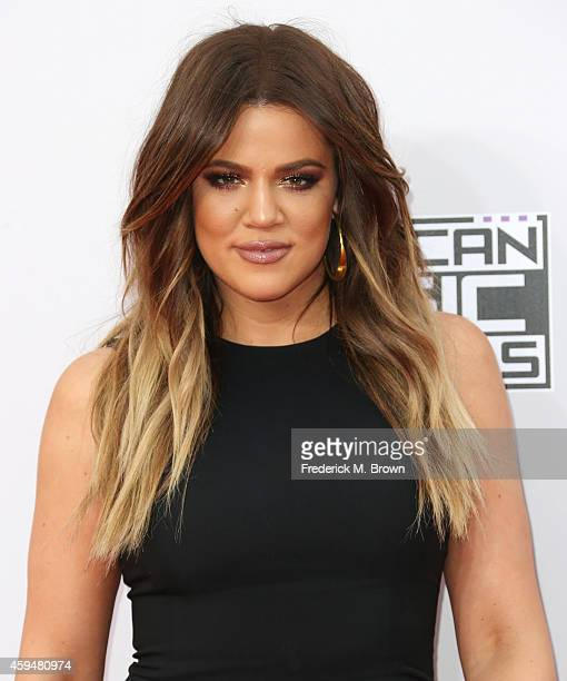 Khloe Kardashian attends the 42nd Annual American Music Awards at the Nokia Theatre LA Live on November 23 2014 in Los Angeles California